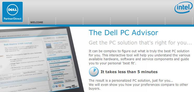 Dell Computer Product Advisor