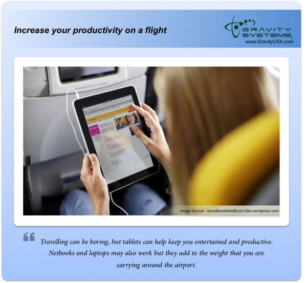 using tablets Increase your productivity on a flight resized 600