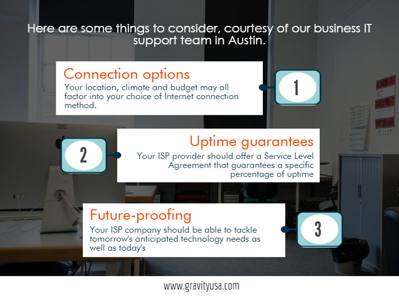 Selecting The Right Isp Setup For Your Business
